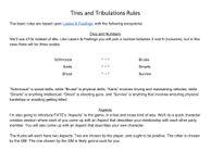 RPG Item: Tires and Tribulations