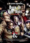 RPG Item: Book of Vile Vices