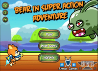 Video Game: Bear in Super Action Adventure