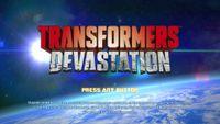 Video Game: Transformers: Devastation