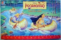 Board Game: Pocahontas Canoe Race Game