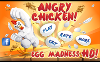 Video Game: Angry Chicken: Egg Madness!