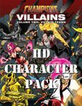 RPG Item: Champions Villain Teams Character Pack (HD Character Pack)