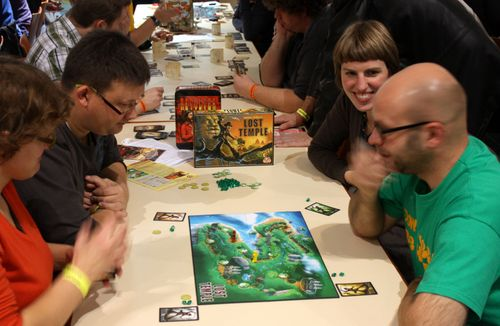 Board Game: Lost Temple