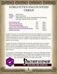 RPG Item: Forgotten Encounters: Urban