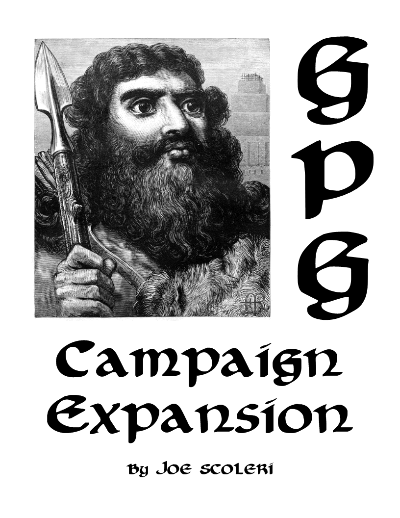 Glider-Pit Gladiators: Campaign Expansion