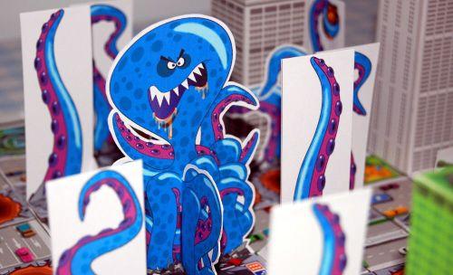 Board Game: Crush Monster Rampage!