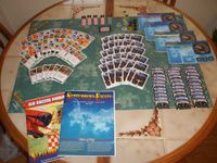 Board Game: September's Eagles: The Thompson Trophy Air Races, 1929-1939