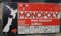 Board Game: Monopoly: New Zealand