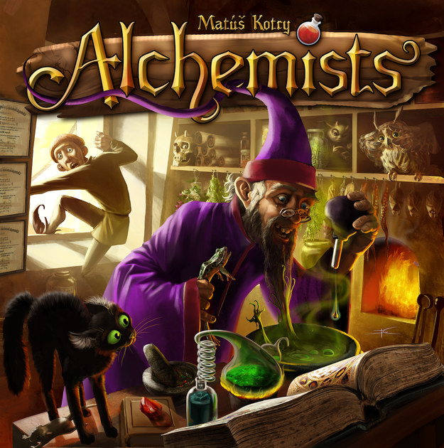 alchemists board game boardgamegeek