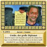 Board Game: Die Siedler von Catan: Das Kartenspiel – Sonderkarte 2003 – Guido, der große Diplomat