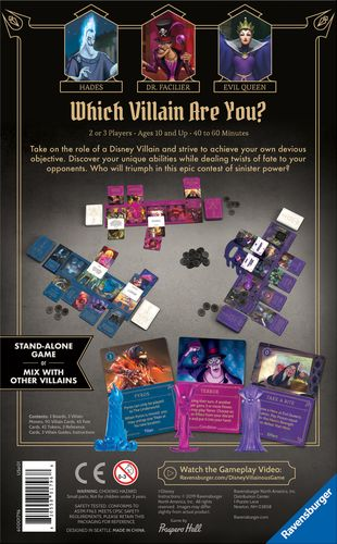 Board Game: Disney Villainous: Wicked to the Core