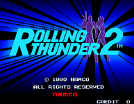 Video Game: Rolling Thunder 2