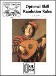 RPG Item: Optional Skill Resolution Rules