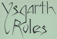 RPG: Ysgarth (3rd Edition)