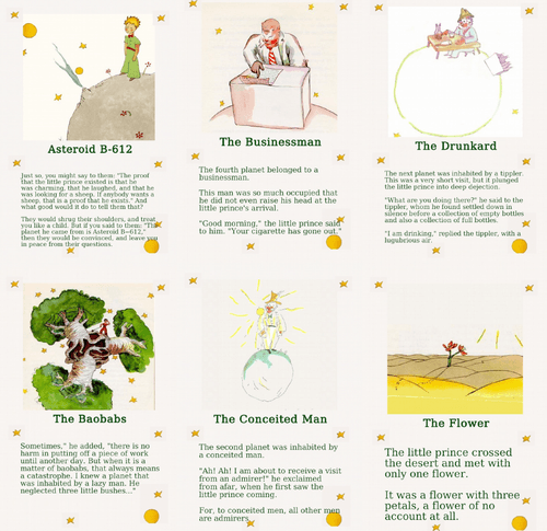 Board Game: The Little Prince: Story Board Adventure