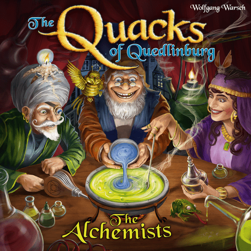 Board Game: The Quacks of Quedlinburg: The Alchemists