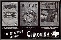 Board Game Publisher: Chaosium