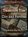 RPG Item: Medieval Fantasy: Transition Tiles - City and Fortress