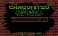 Video Game: Chagunitzu
