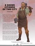 RPG Item: A Dozen Citizens of the City