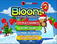 Video Game: Bloons 2 Christmas