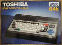 Video Game Hardware: Toshiba HX-10