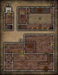 RPG Item: VTT Map Set 062: The Shackled Shrew Tavern