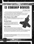 RPG Item: 13 Starship Devices
