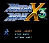 Video Game: Mega Man X3