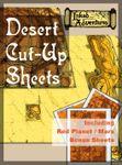 RPG Item: Inked Adventures: Desert Cut-Up Sheets