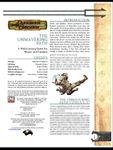 RPG Item: The Unwavering Path