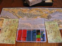 Storage solutions and player mats from Napoleon TWC 1815 for small and large battles