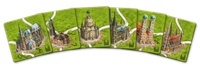 Board Game: Carcassonne: German Cathedrals