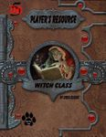 RPG Item: Player's Resource: Witch Class