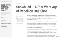 RPG Item: Snowblind