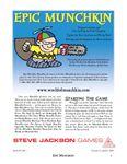 Board Game: Epic Munchkin