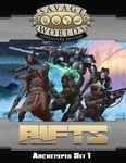 RPG Item: Savage Rifts: Archetypes Set 1 (SWADE Edition)