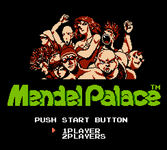 Video Game: Mendel Palace