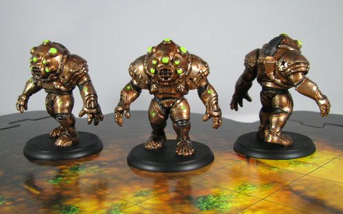 Board Game: Shadows of Brimstone: Harvesters From Beyond Enemy Pack