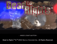 Video Game: Dead to Rights