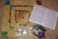 Board Game: Tabu: The Game of Aztecs