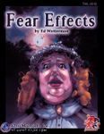 RPG Item: Fear Effects (1st Edition)