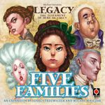 Board Game: Legacy: The Testament of Duke de Crecy – Five Families