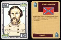 "Comparing ""Dixie - Shiloh"" and ""Blue vs. Gray"" cards"