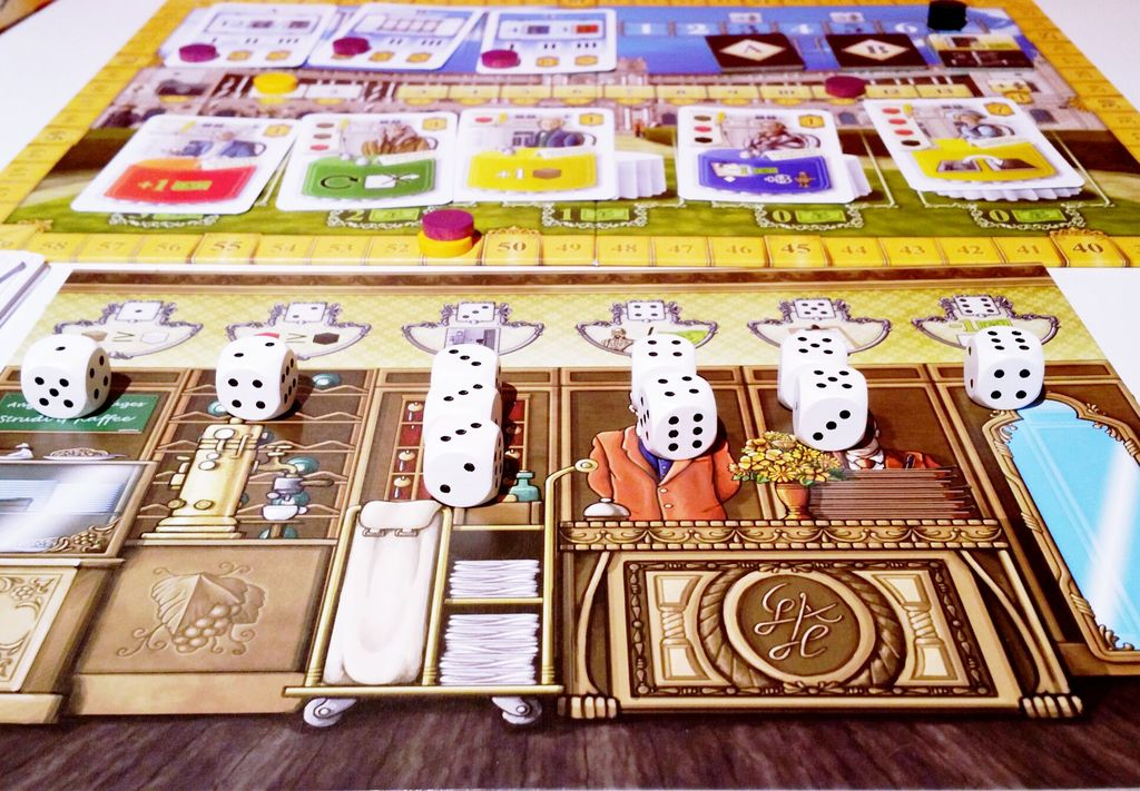 Mina S Not So Mini Review Grand Austria Hotel With 2 Boardgamegeek
