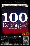 RPG Item: 100 Conundrums for most RPGs