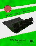 RPG Item: Battlemap: Motorway Rest Area