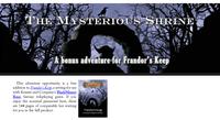 RPG Item: The Mysterious Shrine
