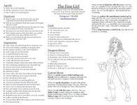 RPG Item: The Fine Girl